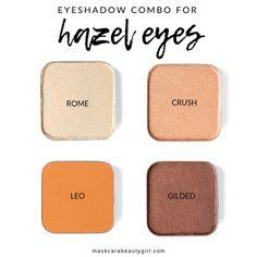 Eyeshadows that Will Make Hazel Eyes Pop - Maskcara Beauty Girl Maskcara Makeup, Maskcara Beauty, Makeup Tips, Makeup Quiz, Makeup Monolid, Beauty Makeup, Makeup Primer, Makeup Stuff, Makeup Hacks