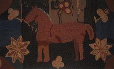 Image- Magdalena's Folk Art Horse by Louise Tietjen