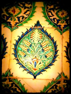 Stunning! A tile from Martyn Lawrence Bullard Blog - From Istambul to Rajasthan