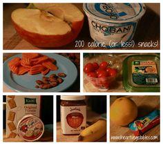 healthy snacks under 200 calorie snack ideas
