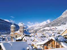 Serre Chevalier, la plus grande station de sports d'hiver des #Alpes du Sud | #France