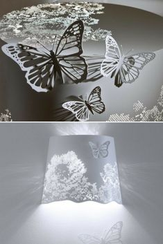 A bright explosion of lightas floor lamp, taking Nature back to where it scarcely exists: a domestic space. With a bright sparkle of flowers and lights, it appeals and delights butterflies, glowing with happiness. (metal butterflies with magnet, which you can take away and put on where #Floorlamp #Lamp #Lighting #Lightingdesign #Metallic #Modernlighting