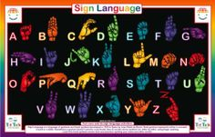 "Sign Language Activity Placemat by Tot Talk. $7.99. This includes the alphabet, counting to nine, and activities to promote learning basic finger signing.. Use washable markers with placemats, and children can play, write, create, draw and wipe clean and start over.. Learn to communicate using finger signing with this sign language activity placemat. 11.5"" x 17.5"" High quality, durable, and washable placemat. Learn to communicate using finger signing with this sign langua..."