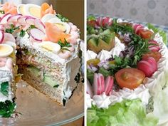 The sandwich cake... yes please.