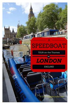Did you know you can take a speed boat tour on the River Thames in London with City Cruises? For details and a movie, read here...