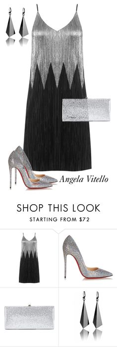 """Untitled #901"" by angela-vitello on Polyvore featuring Christian Louboutin and Jimmy Choo"