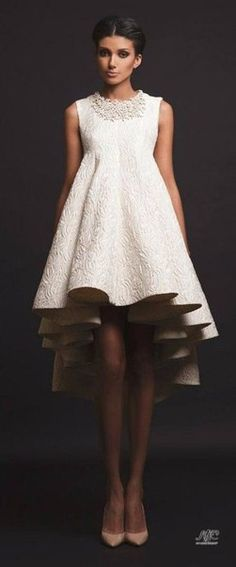 Atelier Krikor Jabotian takes pride in its refined craftsmanship and use of opulent fabrics to create a timeless message of heritage, style, tradition and innovation. Couture Mode, Style Couture, Couture Fashion, Gypsy Fashion, Couture Dresses, Fashion Dresses, Dress Skirt, Dress Up, Silver Cocktail Dress