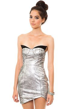 One Teaspoon The Fifth Element Leather Dress