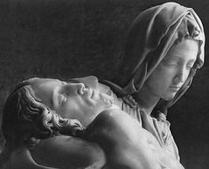 Michelangelo- Pietà        This sculpture is one of the most beautiful things on this earth. I will go to Saint Peter's and see it.