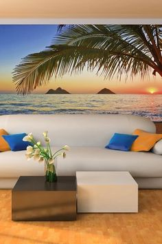 Pacific Sunrise Wall Mural
