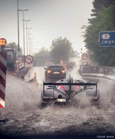 Ultima GTR making its way through water! #petrolified