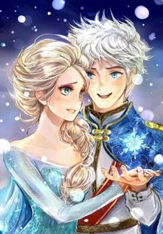 EEEEEE!!!!!! I really wish this was a thing. COME ON, DISNEY!!! Frozen 2, NEEDS to bring these two together!!! Jelsa!!❤️❤️❤️