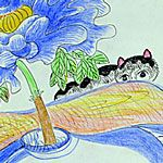 Blending beauty and humor with tragedy and loss, THE CATS OF MIRIKITANI is an intimate exploration of the lingering wounds of war and the healing power of art. A heart-warming affirmation of humanity that will appeal to all lovers of peace, art, and cats. Old And New, Line Art, Paintings, Illustrations, Fantasy, Sculpture, Cats, Artwork, Gatos