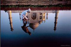 Taj Mahal. Picture by Steve McCurry