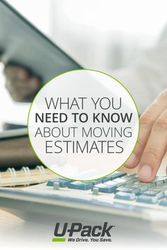 Getting moving estimates is an important part in the moving process. Learn everything you need to know to make the right decision. Moving Costs, Get Moving, Moving Tips, Moving Estimate, Washington Dc, Need To Know, Learning, Moving Hacks, Studying