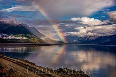 Rainbow, Seward Highway, Alaska