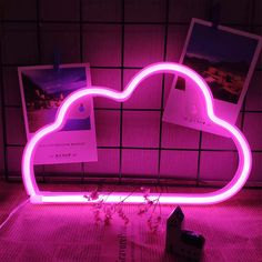 Pink Cloud Neon Light LED Pink Cloud Neon Signs Pink Clouds Lighting Cloud Neon Sign Battery/USB Operated Cloud Neon Night Lights for Christmas Baby Room Christmas Wedding Party Supplies: Amazon.co.uk: Lighting