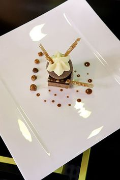 Patrick Henriroux's - La Pyramide Restaurant of a Grand Chef Relais & Châteaux and hotel in town.