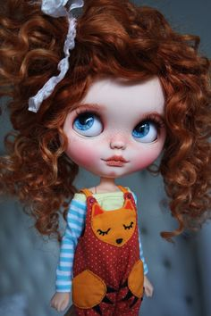 """RESERVED for Patrick - OOAK Custom Blythe Doll """"MAGICA"""" by Cihui"""
