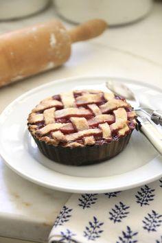 Easy Petite Cherry Pies