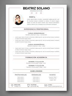 If you like this cv template. Check others on my CV template board :) Thanks for sharing! Graphic Design Cv, Cv Design, Resume Design, Creative Cv Template, Creative Resume, Bootstrap Template, Resume Templates, Cv Web, Cv Original