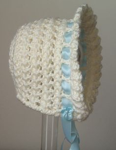 Star Stitch bonnet size 6 to 9 months