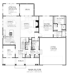 Mascord house plan 1201j house plans basement plans and for Daylight basement ranch house plans