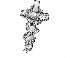 Cross Tattoo Design Art Picture