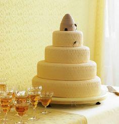 Honey Comb Texture Cake