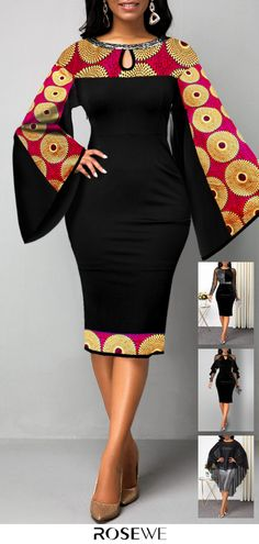 Crush Dresses For Valentine s Day 2020 Crush Dresses For Valentine s Day 2020 Rosewe rosewecom Fashion Dress Celebrate the day of love in a romantic dress with nbsp hellip makeover clothes Best African Dress Designs, Best African Dresses, African Fashion Ankara, Latest African Fashion Dresses, African Print Fashion, African Attire, African Outfits, Africa Fashion, Tribal Fashion