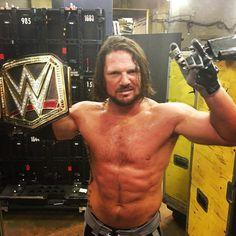 New WWE Champion AJ Styles
