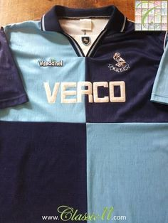 Relive Wycombe Wanderers' 1994/1995 season with this original Vandanel home football shirt.