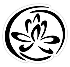 The Black Lotus Symbol, Sherlock. This would be a cool tatt.