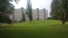 Deák Ferenc utcai lakótelep és parkja