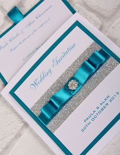 elegant wedding invitations with rhinestones - Google Search