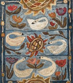 Five Spring Swans by Marijo Taylor-Pattern Only or Complete Kit