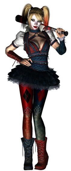 Harley Quinn (Arkham Knight) Pre-Papercraft Render by on DeviantArt Halloween Apples, Batman Arkham Knight, Deadshot, Penelope, Riddler, Jessica Nigri, Two Faces, Catwoman, Harley Quinn