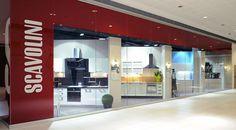 """Scavolini Store Split. The showroom is wonderfully located inside the """"City Center One"""", the brand new shopping center in Vukovarska 207, Split."""