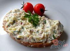 Celerová pomazánka Slovak Recipes, Czech Recipes, Ethnic Recipes, Baked Potato, Baking Recipes, Ham, Great Recipes, Food And Drink, Meals
