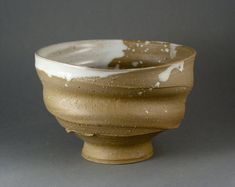 Chawan, Tea Bowl for japanese tea ceremony, handthrown, woodfired, one of a kind by Paul Fryman