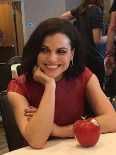 Lana Parrilla in the press room at Comic-Con International 2016 (July 23, 2016)