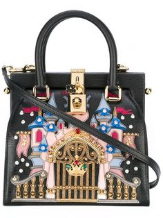 Shop Dolce & Gabbana castle patch tote in Parisi from the world's best independent boutiques at farfetch.com. Shop 400 boutiques at one address.