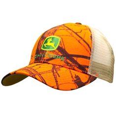 Men's John Deere Blaze Mossy Oak Mesh Cap | WeGotGreen.com