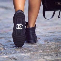 Chanel Sneakers | TheyAllHateUs http://FashionCognoscente.blogspot.com