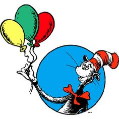Dr Seuss Photo: This Photo was uploaded by _ileaana. Find other Dr Seuss pictures and photos or upload your own with Photobucket free image and video ho. Dr. Seuss, Dr Seuss Hat, Dr Seuss Birthday Party, Happy Birthday, Dr Seuss Clipart, Dr Seuss Pictures, Dr Seuss Printables, Cat In The Hat Party, Theodor Seuss Geisel