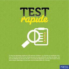 Test de dépistage rapide