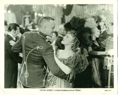 "George Sanders & Jeanette MacDonald in "" Bitter Sweet. Hollywood Star, Classic Hollywood, Jeanette Macdonald, Hollywood Costume, Bitter, I Movie, Hair Cuts, Bad Bad, Actors"