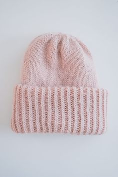 Chunky_Beanie (1 of 9) Knitting Patterns Free, Free Knitting, Free Pattern, Knitting Ideas, Knitting Socks, Knitted Hats, Beanie Hats, Hats For Women, Handicraft