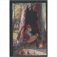 The Swagman Australian Types Wide Wide World Oilette Art Postcard 9229 on eBid United Kingdom