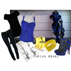 Style Inspired by Garrus, created by isilo-aranel on Polyvore.